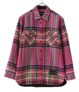 WD CHECK WOOL SHIRT