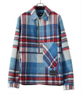WD CHECK ANORAK WOOL SHIRT