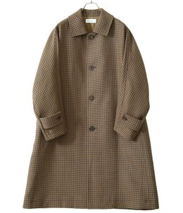 Dolman Sleeve Balmacaan Coat