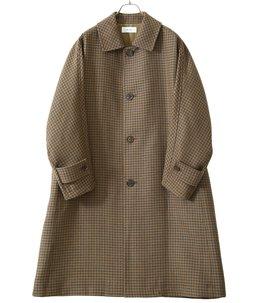 【予約】Dolman Sleeve Balmacaan Coat