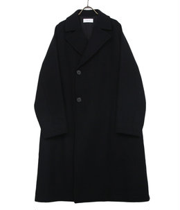 【予約】Double Breasted Balmacaan Coat