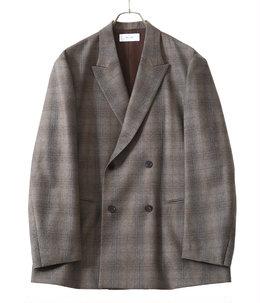 Double Breasted Boxy Jacket