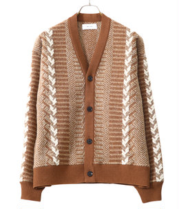 【予約】Inlay Cardigan