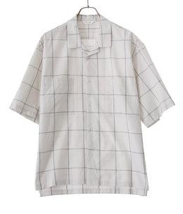 Open-Collar Half Sleeve Shirt
