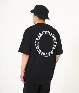 BLACK LETTER CIRCLE T-SHIRTS