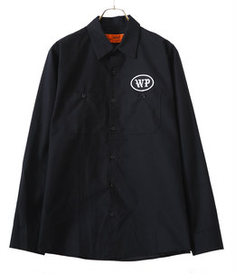 BLACK LETTER L/S WORK SHIRTS