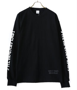 WP×CAMBER BLACK LETTER2 L/Tee