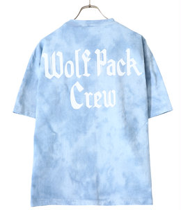 WP×CAMBER WOLF PACK CREW TIE-DYE POCKET T-SHIRTS