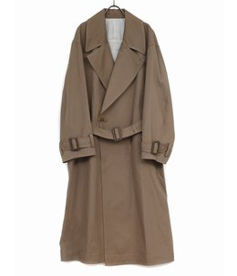 WOOL KARSEY DOUBLE BREASTED OVERCOAT