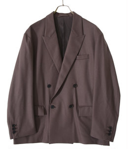 SIDE OPEN DOUBLE-BREASTED JACKET