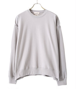 OVERSIZED PIPING SWEAT SHIRT