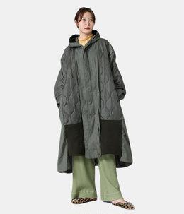 【レディース】circa make M-51fish tail cut back wide coat
