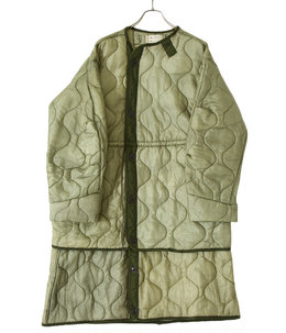 【予約】【レディース】circa make virtical connect quilting liner coat