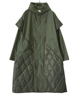 【予約】【レディース】circa make cutback military coat