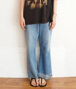 【予約】【レディース】circa make fringe denim pants[span100]