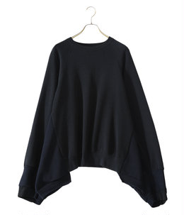 【予約】circa make wide raglan sleeve plane sweat top