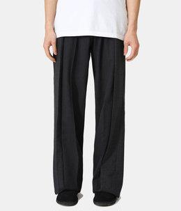 circa make pleats cutback wide slacks