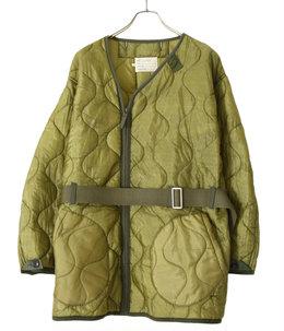 【予約】circa make quilting zip up jacket