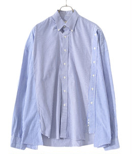 circa make double placket wide shirt