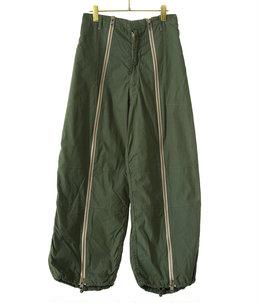 【予約】circa make front zip snowcamouflage pants