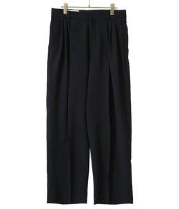 【予約】7tuck twill slacks