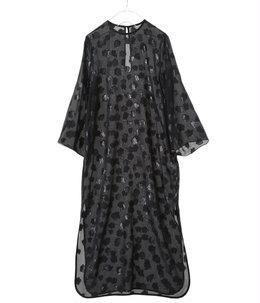 【レディース】Film Jacquard Shine I-Line Dress