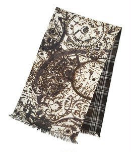 w face rectangle scarf.
