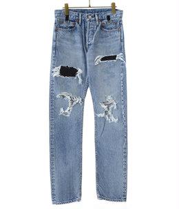 grunge jean.