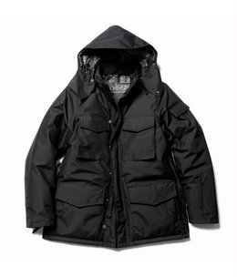 HEM ZIP 5 POCKET PADDED HOOD BLOUSON