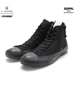 X N.HOOLYWOOD CONVERSE ALL STAR HI ZIP UP