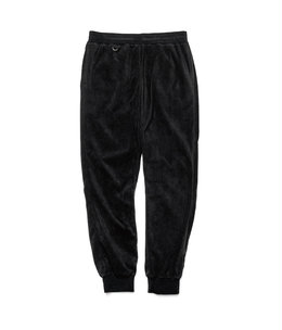 MICRO FLEECE RIBBED PANT