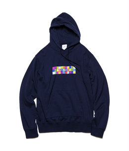 COLOR CHART BOX LOGO HOODIE