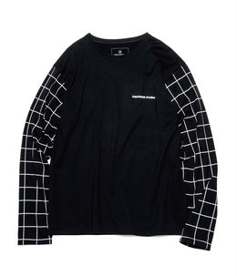 L/S GRAPH CHECK CUTSEWN