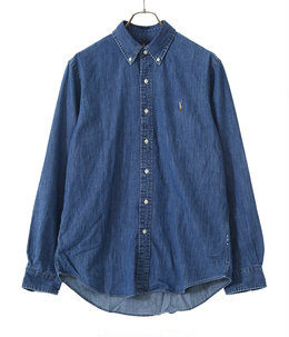 CUBDPPCS-LONG SLEEVE-SPORT SHIRT DENIM
