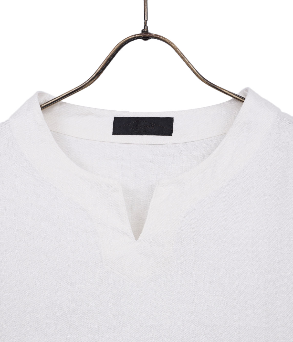 【予約】Linen Herringbone P/O Shirt