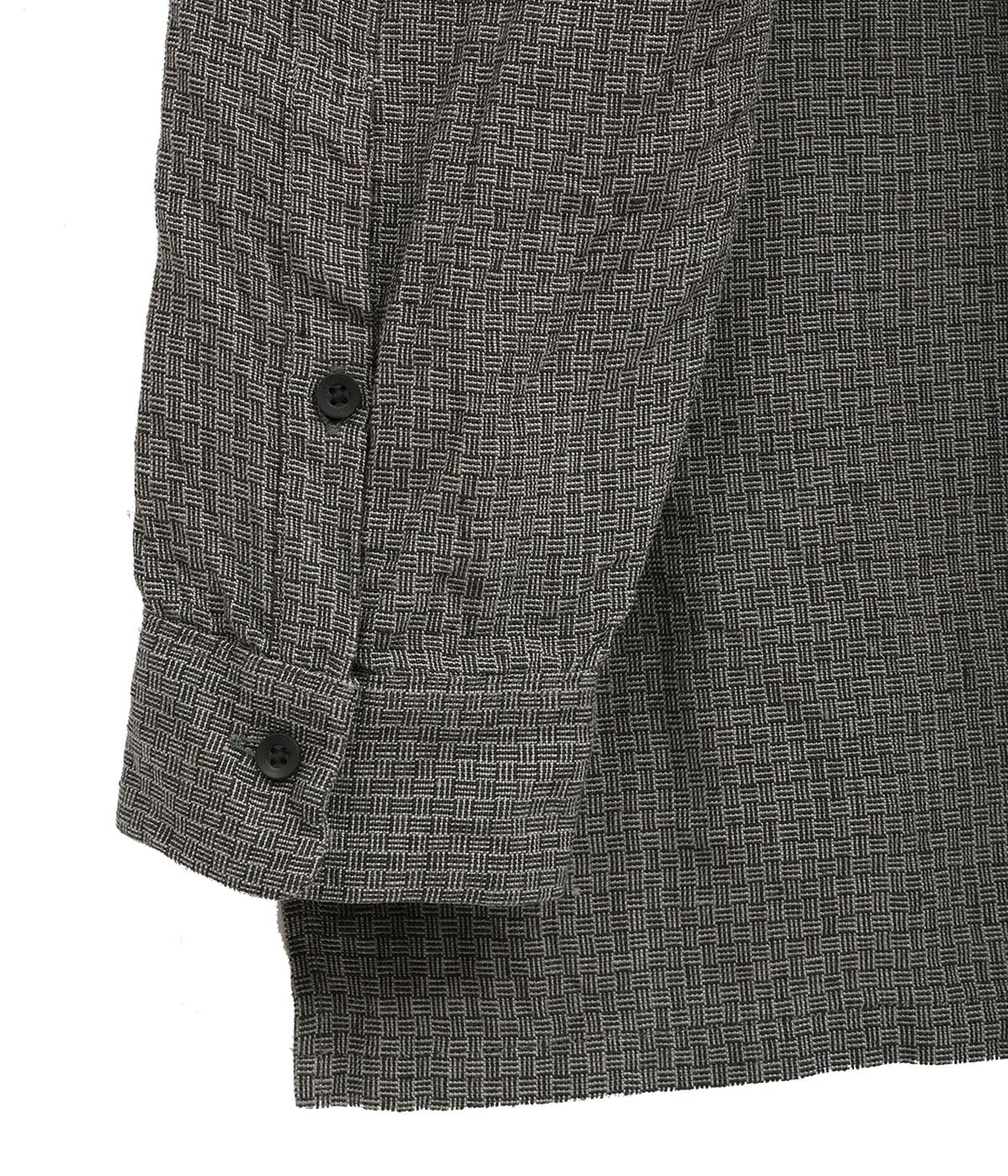 【予約】Linen L/Check Gradeners Shirt Mid