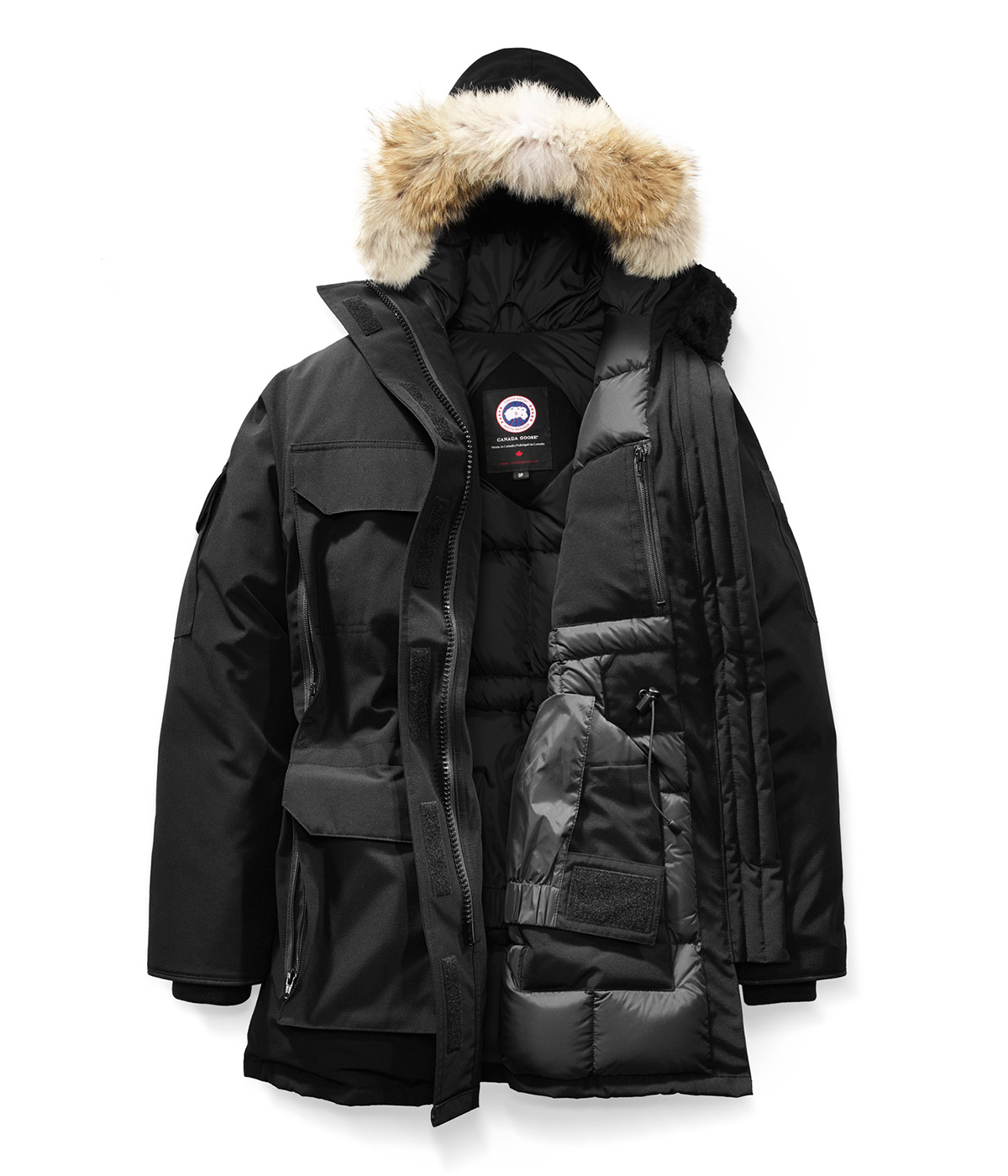 EXPEDITION PARKA FF -BLACK-