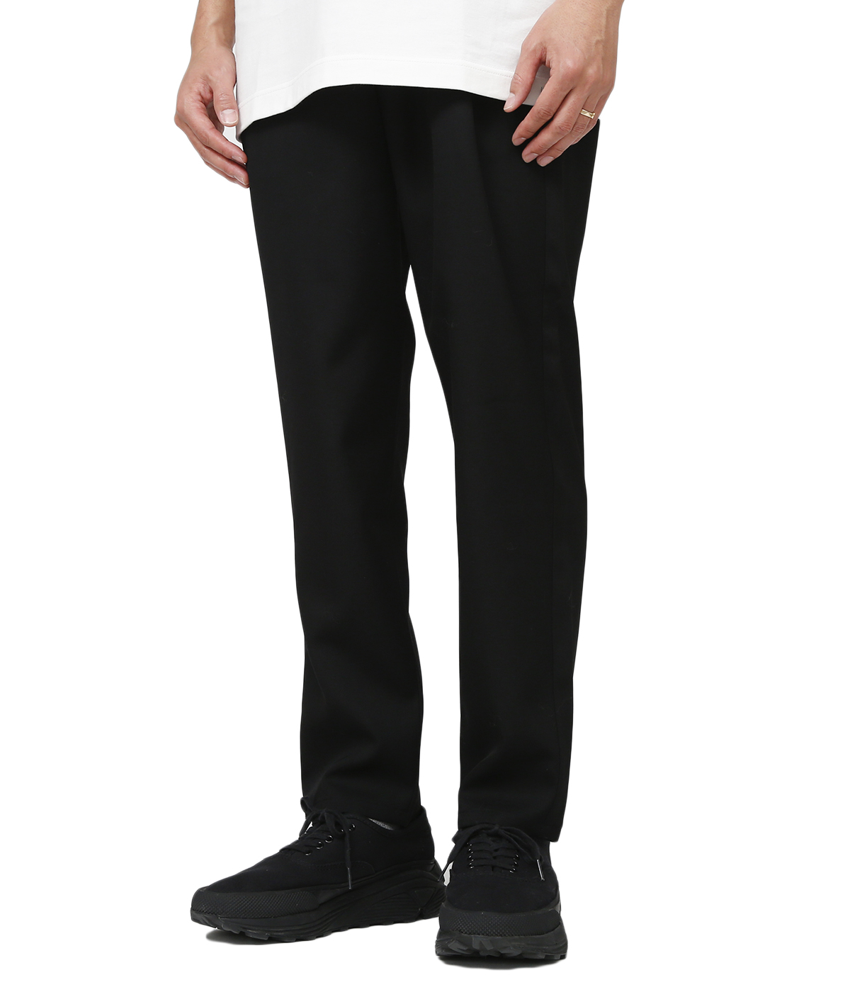 Selvage Wool Slim Chef Pants