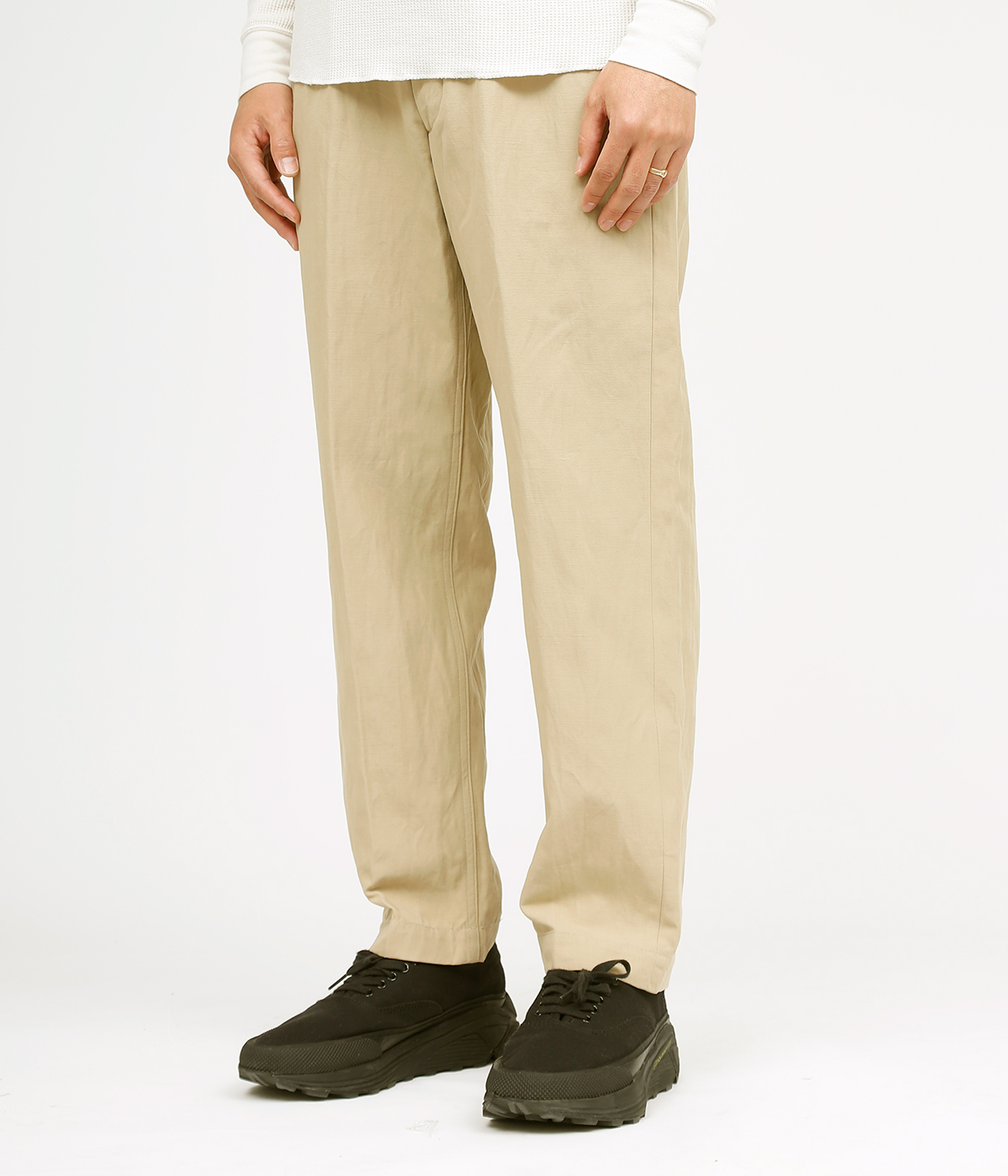 Belted Work Trousers