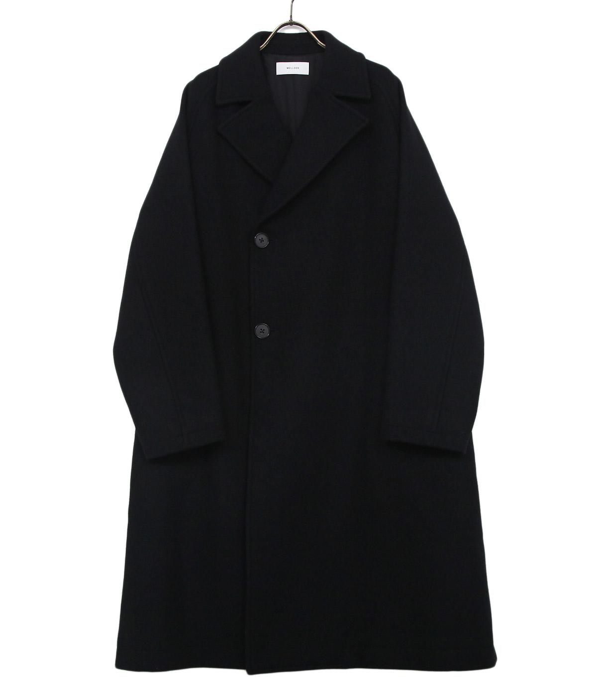 Double Breasted Balmacaan Coat